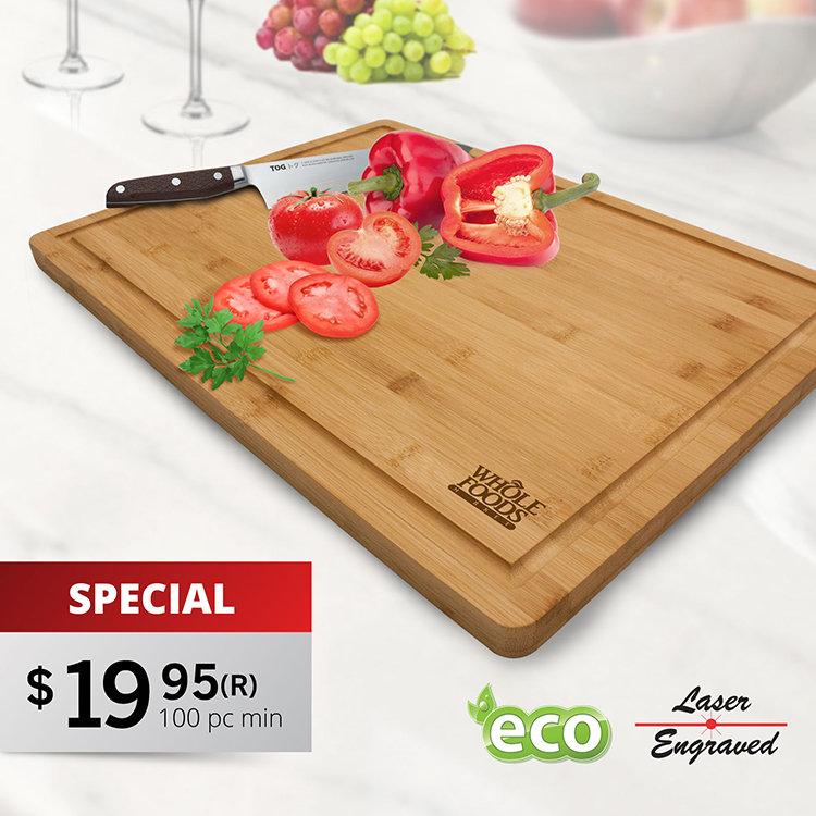 CB120 DOMINICA BAMBOO CUTTING BOARD / SERVING TRAY