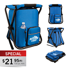 CC550<Br><br>ASPEN COOLER BACKPACK CHAIR