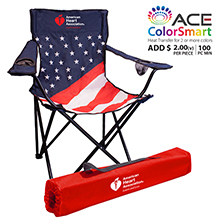 CC713_USFLAG PATRIOTIC OUTDOOR FOLDING CHAIR
