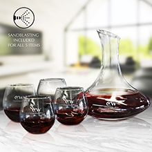 WS625 5 PC WINE DECANTER SET